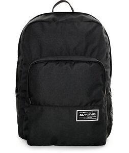 MENS WOMEN'S Dakine Capitol Black 23L Backpack SCHOOL BAG NEW $55