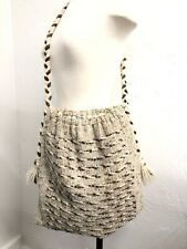 Studio Donegal Ireland Pure Wool Handwoven Tweed Shoulder Hobo Tote Bag