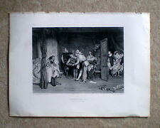 """viktorianisches muster ca.1870 """"christopher sly"""" (shakespeare die zähmung der spitzmaus)"""
