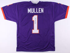 """Trayvon Mullen Signed Clemson Tigers Jersey Inscribed """"National Champs""""(JSA COA)"""