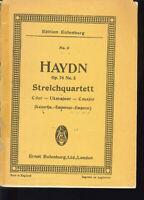 Haydn ~ Streichquartett C-Dur Op. 76 No. 3 ~ Studienpartitur