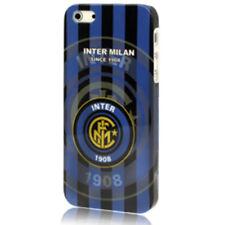 Cover guscio decorata con il logo della F.C. Inter 1908 per Apple Iphone 5 & 5s