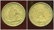 BRITISH  CARAIBES  5 cents 1965