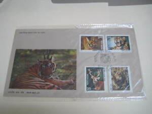 1976 India First Day cover on Indian Wild Life - Limited Edition