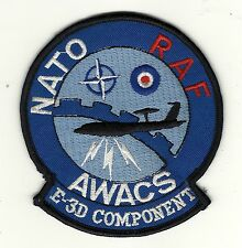 Aviation Patch AWACS E3 COMPONENTS NATO RAF OTAN