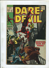 DAREDEVIL #47 (4.0) BROTHER TAKE MY HAND!  1968