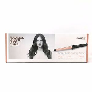 BABYLISS Rose Blush Curling Wand 2285JU - Ex Display - Some Marks from Handling