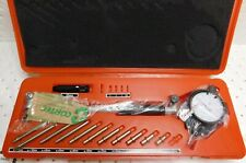 50-160MM Dial Bore Gauge Di/ámetro Indicador Medici/ón Kit de herramientas del cilindro del motor