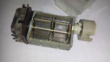 Variable Air Capacitors 380 + 320 pF + positiometer 100 kohm /used /