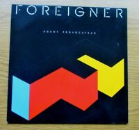 FOREIGNER Agent Provocateur 1984 GERMAN PRESSING VINYL LP WITH LYRIC INNER EX
