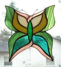 Handmade Stained Glass Butterfly Suncatcher (Bfn02)