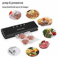 US 110W Food Vacuum Sealer Saver Packing Automatic Sealing Machine w/Storage Bag