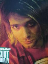 KURT COBAIN (NIRVANA) - MAGAZINE CUTTING (FULL PAGE PHOTO) (REF K6)