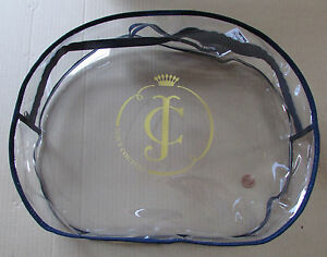 Juicy Couture Travel Bag Clear Zip Clutch Bag Accessories Cosmetics