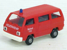 "Mitsubishi L 300 Bus in rot ""Feuerwehr 112"", o.OVP, Rietze, 1:87"