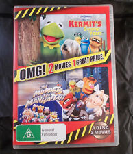 Kermit's Swamp Years & The Muppets Take Manhattan - DVD - Region 4 - 2 Movies
