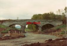 PHOTO  1993 TELFORD  PITCHCROFT RAILWAY BRIDGE  THE A518 WAS BEING REALIGNED ALO