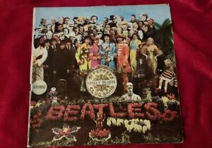 """BEATLES:""""SGT.PEPPERS'S"""" 12""""ITALY 1967 STEREO SPMCQ 31512"""
