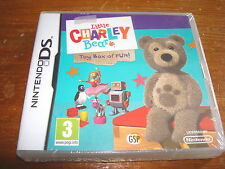 LITTLE CHARLEY BEAR TOY BOX OF FUN ** NEW & SEALED **  Nintendo Ds Game