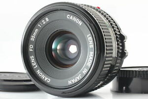 [Near MINT] Canon New FD NFD 35mm f/2.8 MF Wide Angle Lens for SLR from JAPAN