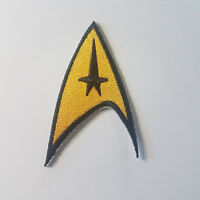 Star Trek Original Series Command Insiginia Embroidered Logo Patch 3 inches tall