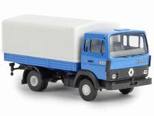 Brekina 34850 Renault JN90 Pritsche Plane blau 1:87 Neu