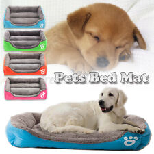 Grande Cachorro de Estimação Gato Cama Puppy Almofada House-LAVÁVEL MACIA Quente Kennel Mat Cobertor