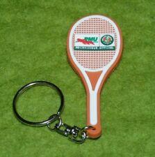 Porte clés raquette en plastique souple PMU Roland Garros fournisseur officiel