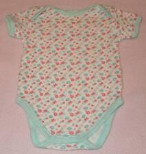 Baby Club Cute Little Girls Flowers & Butterflies Romper, Size 000