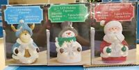 LED Holiday Figurine 3 Pack