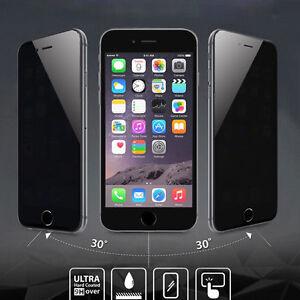 Für Apple iPhone X Anti-Spy Blickschutz aus gehärtetem Glas Screen Protect 1Pc