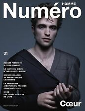 Numéro Homme Magazine Robert Pattinson Jean-Baptiste Mondino NOBUYOSHI ARAKI