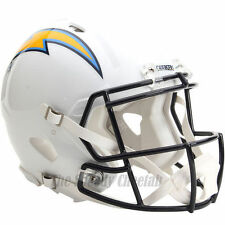 SAN DIEGO CHARGERS RIDDELL NFL FULL SIZE AUTHENTIC SPEED FOOTBALL HELMET