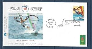 U.S. - 3068h ON IOC COVER FOR ATLANTA 1996 OLYMPICS YACHTING COMPETITION