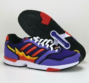 ADIDAS ZX 1000 The Simpsons 'Flaming Moes' H05790 Purple Men's Size 12.5