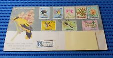1963 State of Singapore Official First Day Cover New Definitive Bird & Orchid 03