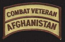 AFGHANISTAN WAR COMBAT VETERAN OEF PATCH US ARMY MARINES NAVY AIR FORCE USCG WOW