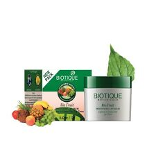 Biotique Bio Fruit Whitening Lip Balm Lightens & Evens-Out Lip Tones 12 Gram