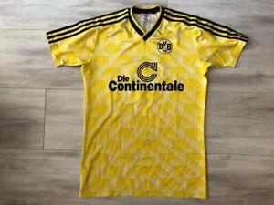 Borussia Dortmund Trikot Matchworn Match Worn Shirt 1988/89