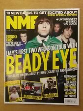 NME APRIL 2 2011 LIAM GALLAGHER BEADY EYE KATY PERRY BIFFY CLYRO ARCTIC MONKEYS