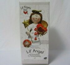 """Sterling Lil' Andges Big Hearts Spring Body Has Red Heart For Personalizing 12"""""""