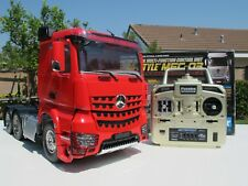 Tamiya RC 1/14 Mercedes Arocs 3363 6x4 Truck +MFC-03 Light &Sound +Futaba 2.4GHz
