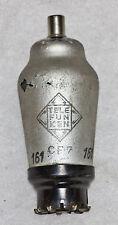 TELEFUNKEN CF7 13H1 TCF7  UF7  SP13  TUBE ANTIQUE RADIO, TESTED 130%