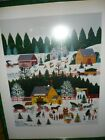 Signed  Wooster Scott Print HOLIDAY TRADITIONS