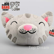 """The Big Bang Theory Cuddly Kitty tête forme peluche oreiller doux coussin jouet 14"""""""