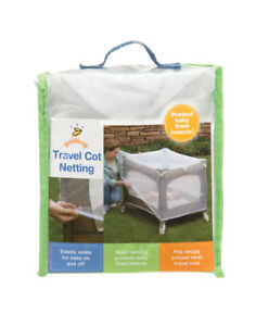 Playette - Travel Cot Netting -  White