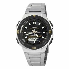 Casio Men's Slim Solar Multi-Function Analog-Digital Watch AQS800WD-1EV