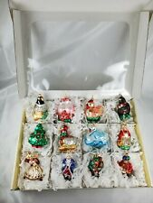 Impuls Ornament Twelve Days of Christmas Set 12 Ornaments Handmade in Poland Box