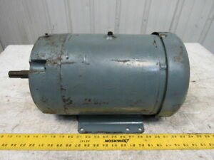 "Baldor JMM3711T 10Hp 3450RPM 3Ph 208-230/460V 215JM Frame 7/8"" Shaft AC Motor"