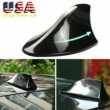 Black Auto Car Shark Fin Roof Antenna Radio FM/AM Aerial for Honda Hyundai Kia